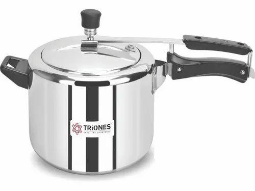 Triones Aluminum Innerlid Pressure Cooker 5 Ltr,Cooking Range, Cooking Tools & Cooking Utensils