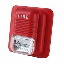 Plastic Red Fire Detector