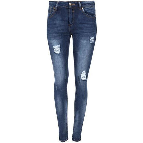 Slim Fit Womens Rugged Denim Jeans Waist Size 26 And 32