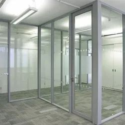 Modular Office Glass Partition