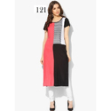 Calf Length Casual Wear Kurti