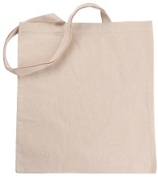 Green Atoms Natural 100% Cotton Reusable Grocery Tote Bag, Size/Dimension: 15