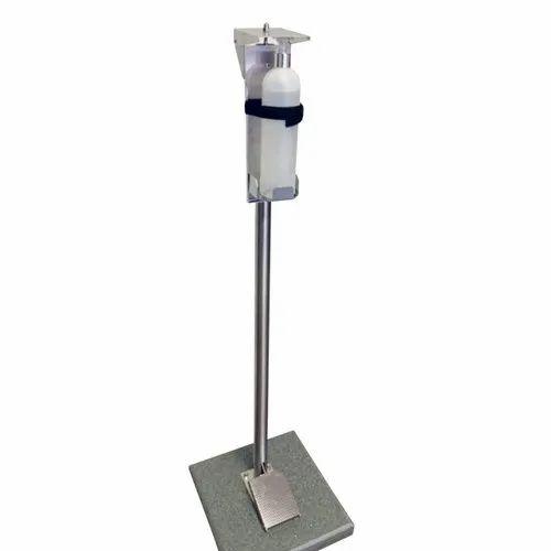 Stainless steel Sanitiser Dispenser Stand