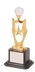 Gold Star Diamond Trophy