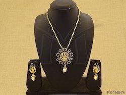 South Indian Temple Pendant Set