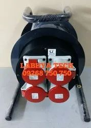 32 Amp Cable Reel Drum with Socket