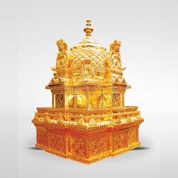 Goldplated Temple