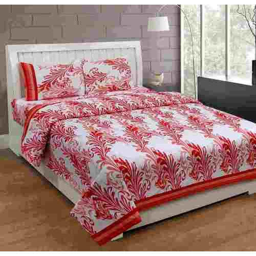 Superieur Exporthub Cotton Printed Double Bed Sheet