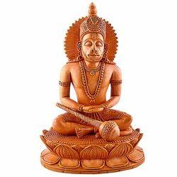 Wooden Hanuman Idols