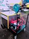 Trailer Mounted Fog Mist Generator with High Pressure Sprayer for Sanitization Machine