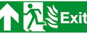 Fire Escape Exit Sign