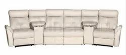 Recliners India Off White Recliner Sofa - Modena, For Commercial Use