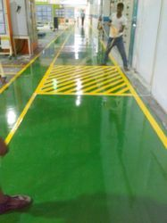 Floor Stripes Marking Service