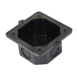 Plastic Square Concealed PVC Box (3.5 x 3.5), for Junction Boxes