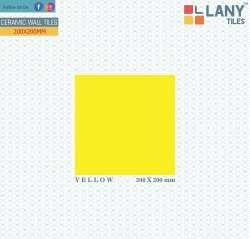 200x200mm Yellow Ceramic Tiles