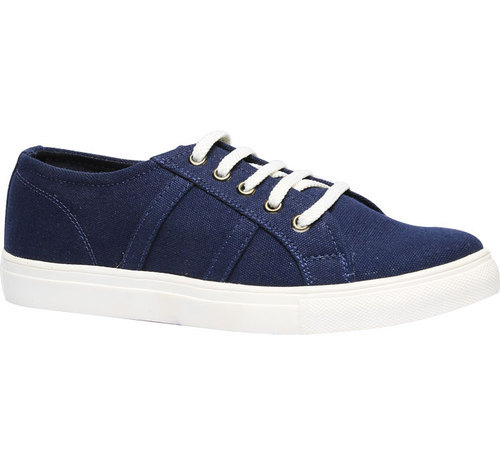 blue casual shoes