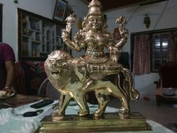 Bronze hand crafted Durga Matha