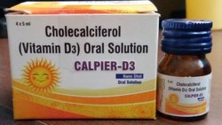 Cholecalciferol (Vitamin D3) Oral Solution