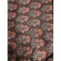 "44-45"" Ajrakh Printed Handblock Fabric, Gsm: 50-100"