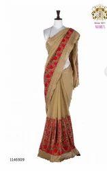 Georgette Fabric Colour Saree