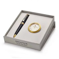 Sheaffer Pen & Clock Gift Set