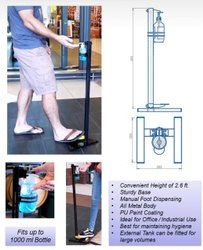 Foot Pedal Touchless Sanitizer  Dispenser
