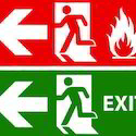 Fire Exit Light Box