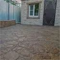 Residential Stamped Concrete Service, In Pan India