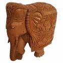 Wooden Shikar Elephant