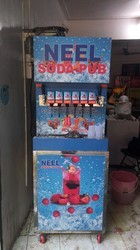 Soda Shop Dispenser Machine