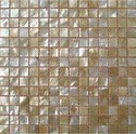 Specific Glass Sea Shell Mosaic Tiles, Thickness: 20-25 Mm, Size (in Cm): 30 * 60