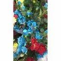 Natural Polyester Artificial Rose Flower, For Decoration