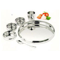 ALAISHA Stainless Steel Thali Set