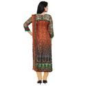 Round Neck Digital Printed Salwar Suit