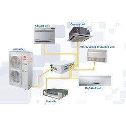 Variable Refrigerant Flow System, For Industrial Use