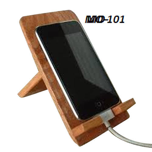 Brown Wooden Mobile Stand At Rs 90 Piece Wooden Cell