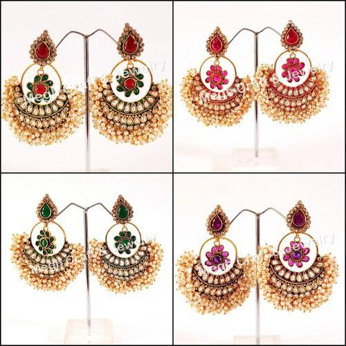 62057e4363 South Indian Designer Wedding Wear/Party Wear One Gram Gold Earring ...