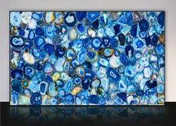 Agate Blue Giant Slab