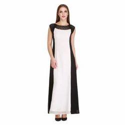 Cottinfab Women's Block Dress (DSS9177A)