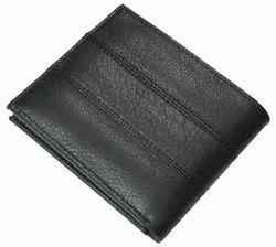 Black Leather Mens Wallet