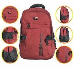 Red Shoulder Backpack