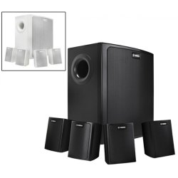 4.1 Black Bosch LB6-100s (4 Nos. Speaker & 1 No. Subwoofer)