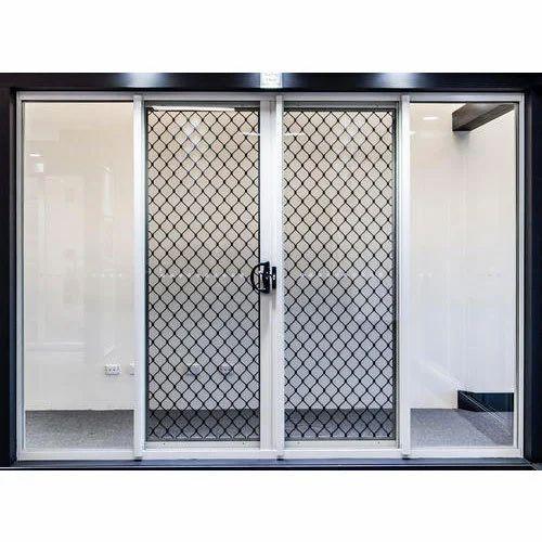 Aluminium Grill Doors  sc 1 st  IndiaMART & Aluminium Grill Doors at Rs 170 /square feet | Aluminum Door ...