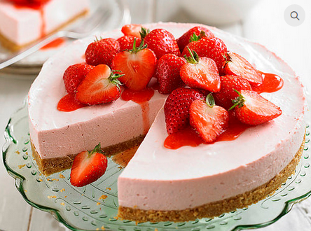 Strawberry Cheese Cake At Rs 880 Piece