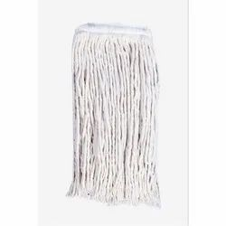 JS White 9 Inch Cotton Mop for Floor Cleaning
