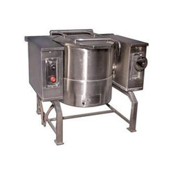 Steam Boiling Tilting Pan