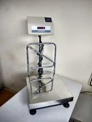 Platform Weighing Scale with Label  Printer