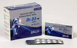 Vitamin D3 1000 IU Tablets
