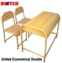 Economical Double School Desk