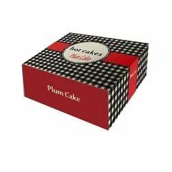 Printed Cake Box
